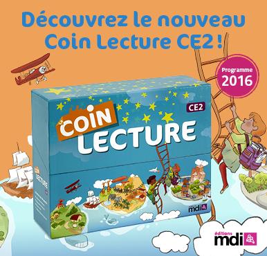 "J'ai testé ""Coin lecture CE2, MDI"""
