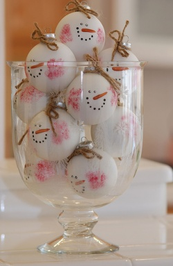 Des petits objets pour Noël...