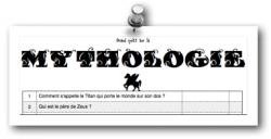 Mythologie : le quizz de fin d'année !