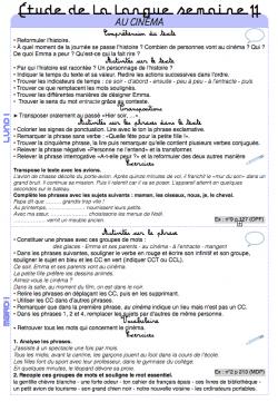 Grammaire Picot : période 2