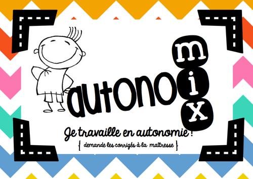 AutonoMIX : l'affiche