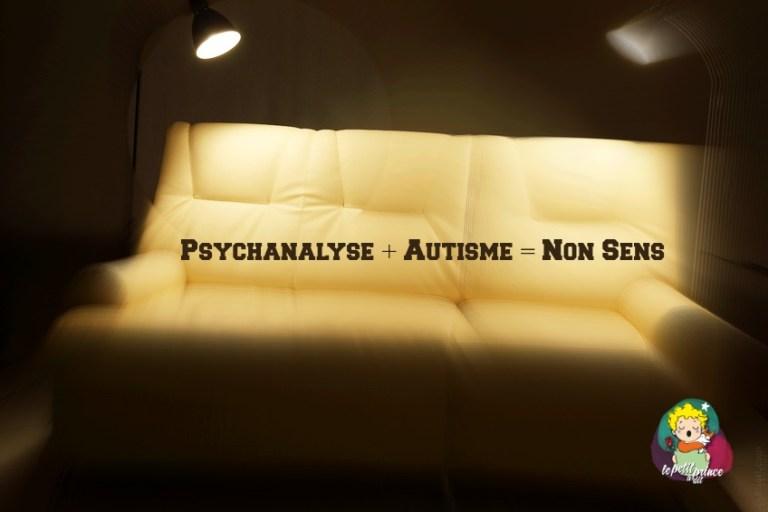 La psychanalyse n'est d'aucun recours pour l'autiste