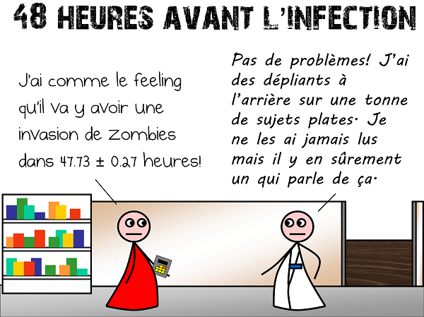 48 heures avant l'infection