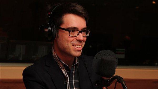 Entrevue à l'émission Médium Large de Catherine Perrin à Radio-Canada