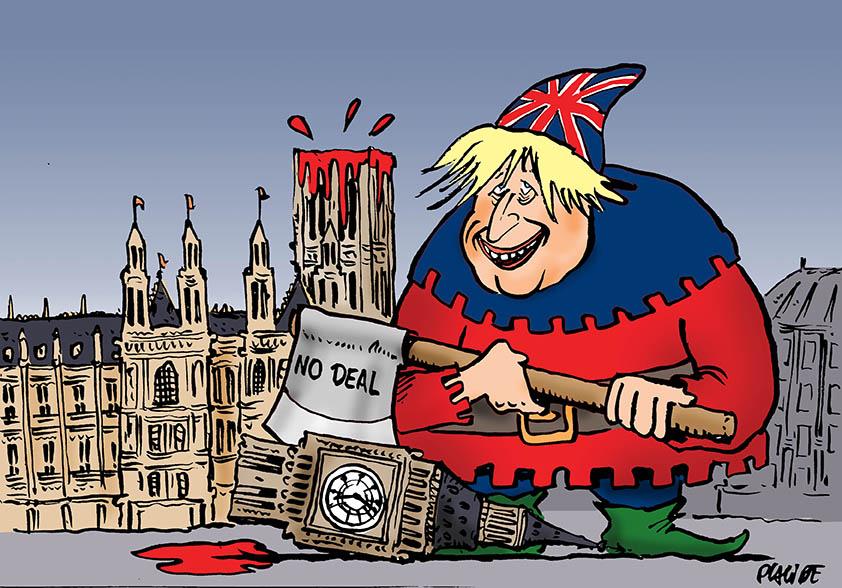 """Résultat de recherche d'images pour """"dessins du jour humour brexit sans accord"""""""""""
