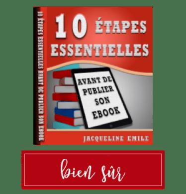 Étapes essentielles avant de publier son ebook