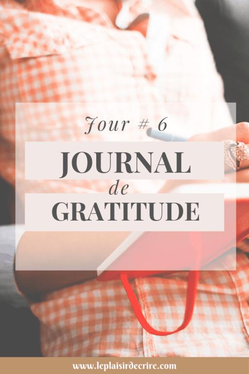 Tenir un journal de gratitude te permet de conserver une trace écrite et de regarder en arrière chaque fois que tu te sens moins chanceux. #gratitude #reconnaissance #penséespositives #bible #Jesus #Dieu #leplaisirdecrire