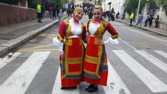 Sant'Efisio costume Desulo