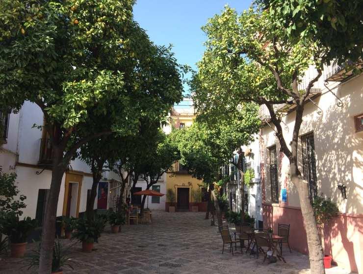 Siviglia -Barrio di Santa Cruz - Le Plume
