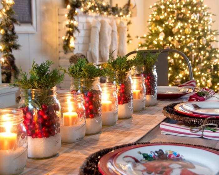 Ricette di Natale dal Mondo - Le Plume - Decorazione tavola