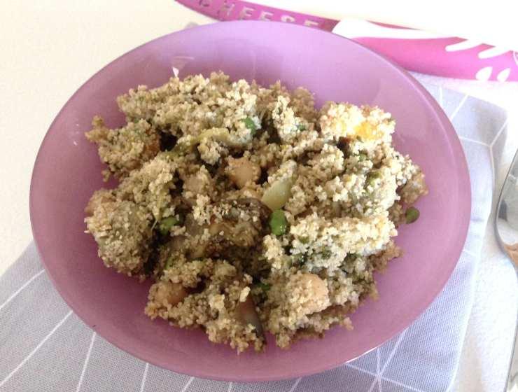 Ricetta cous cous - Le Plume