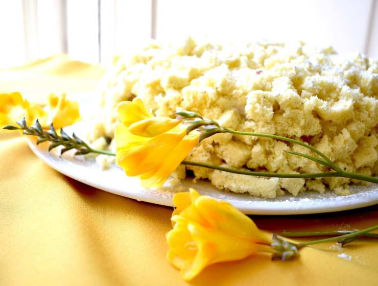 torta mimosa -le plume