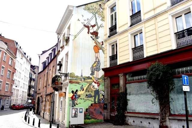 albero fumetti - Bruxelles - le Plume