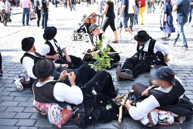 Suonatori tipici - Praga - Le Plume