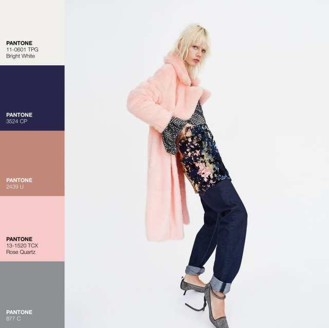 Cappotto Zara - Pink Rosa- Le Plume