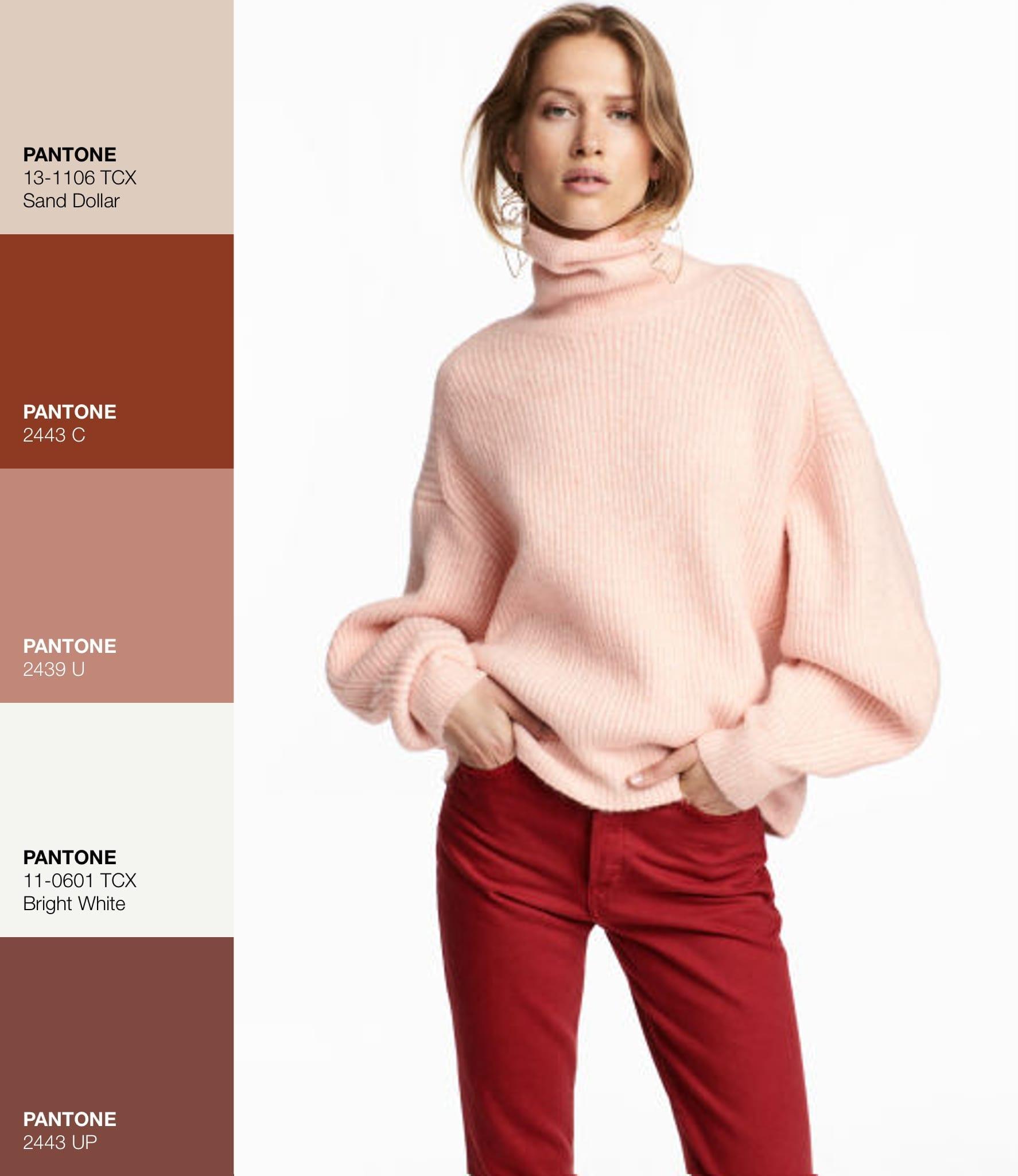 Maglione HM - Pink -Rosa Le Plume