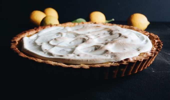 Risultato ricetta tarte au citron meringuée - Cuor di Biscotto - Le Plume