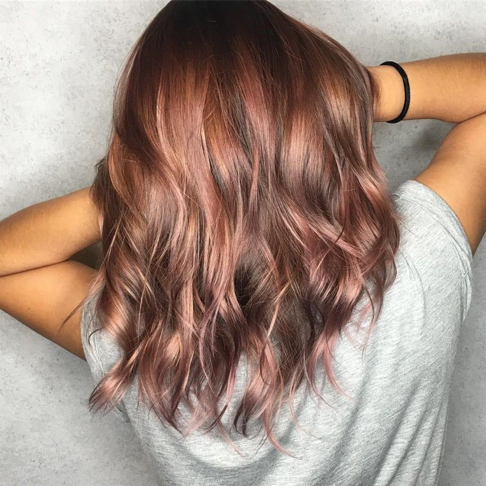 Rosa brown - Aprile Le Plume