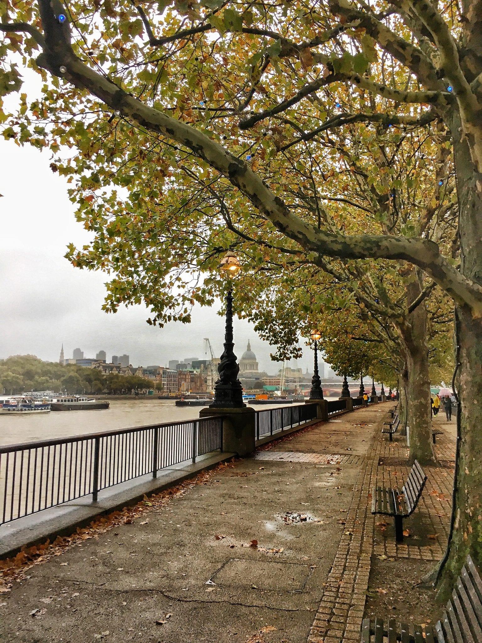 Southbank camminata - Prima volta a Londra - Le Plume