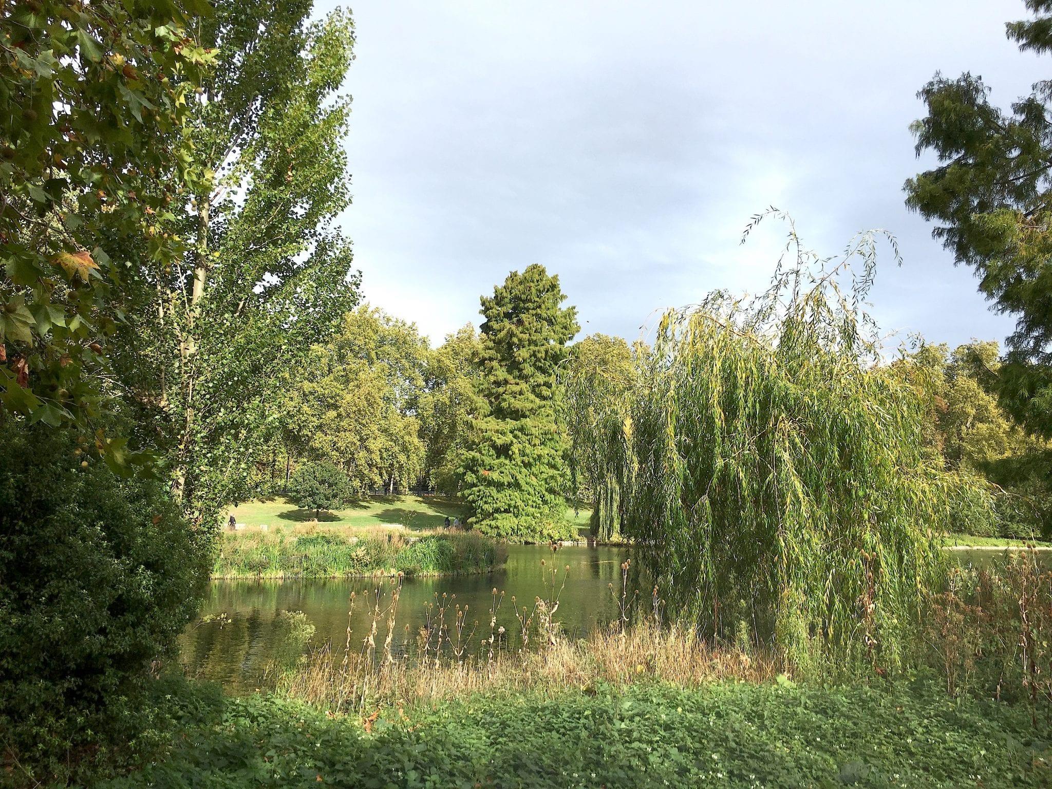 St Jame's Park verde - Prima volta a Londra - Le Plume