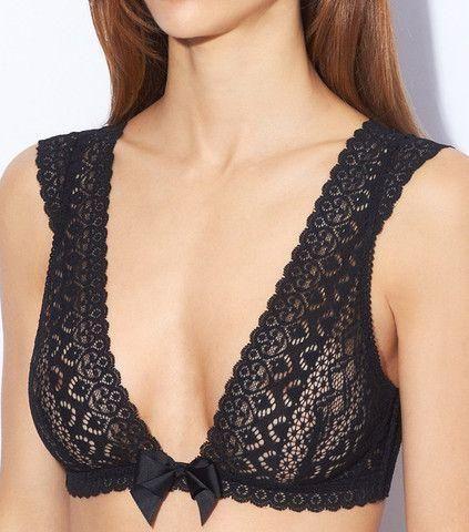 bralette victoria secret nero Bralette Victoria Secret - Biancheria intima - Le Plume