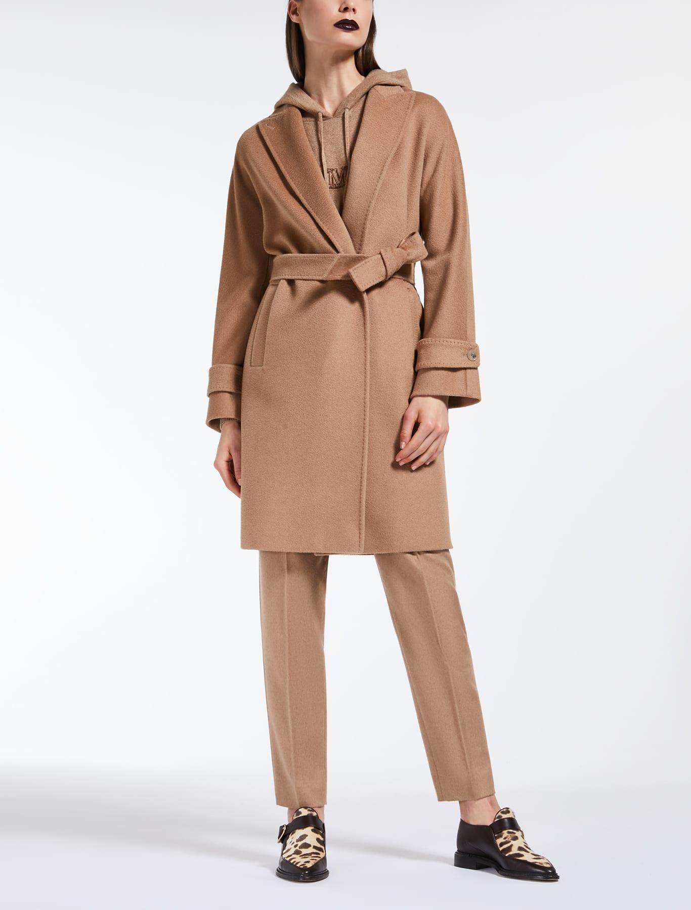 Max Mara - cappotto cammello