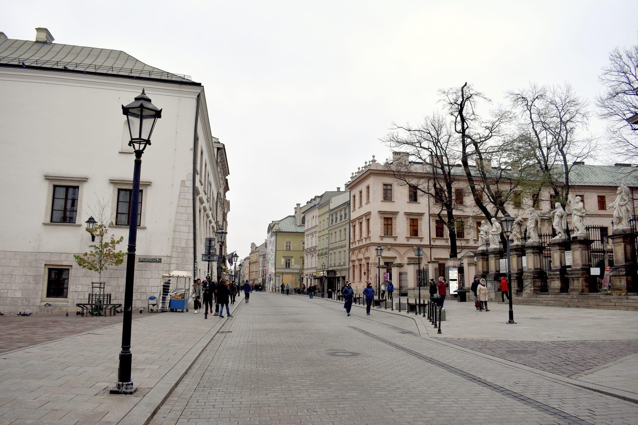 Strada - Cracovia - Le Plume