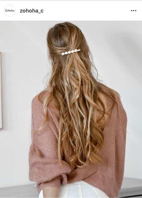 Barrette perle- Trend - Le Plume