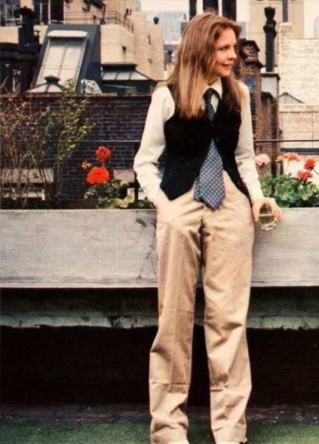 Diane Keaton- outfit del cinema - Le Plume