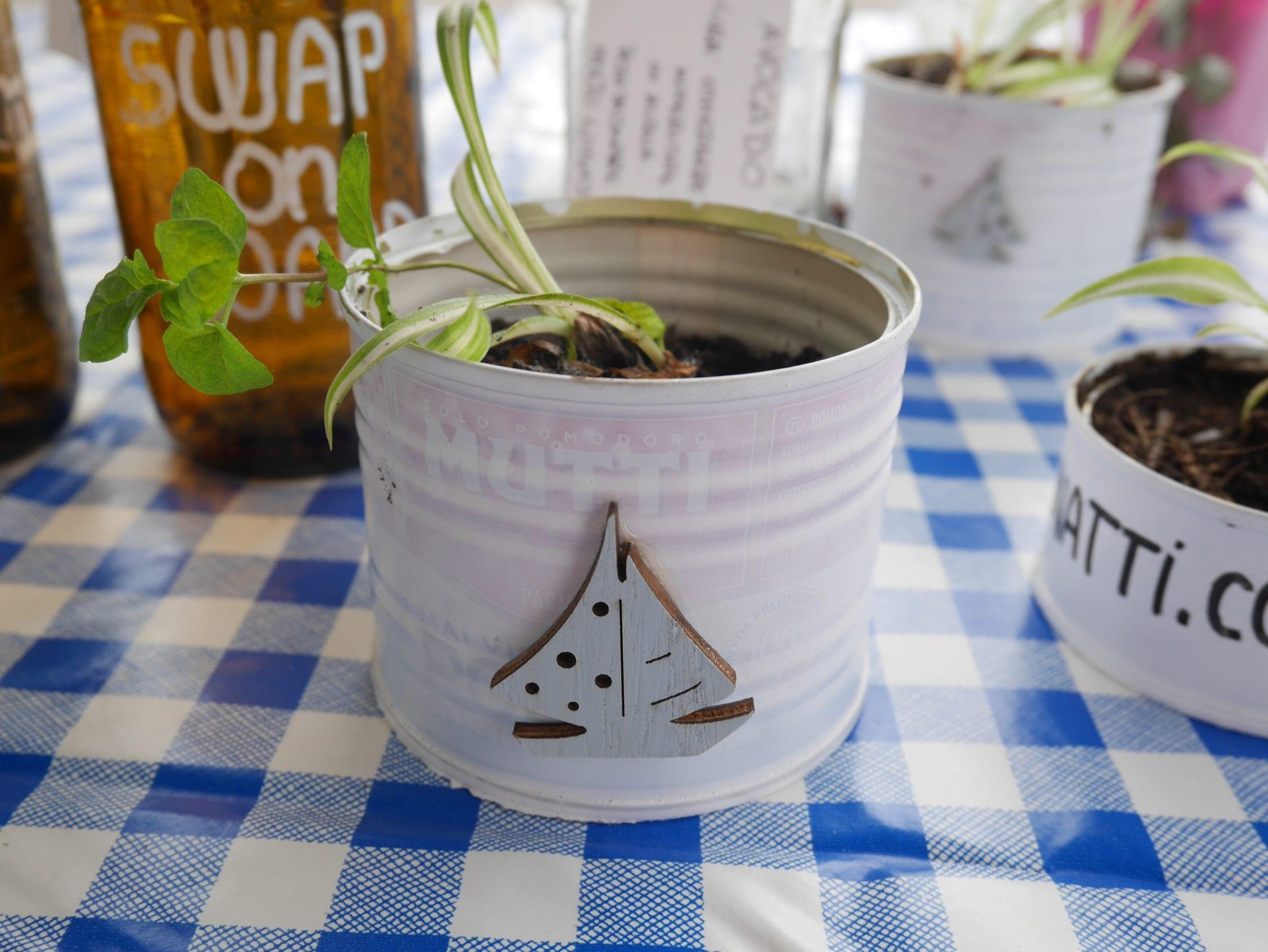 Latta Plant swap on board - Le Plume