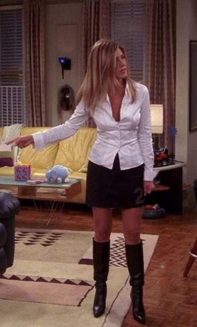 Rachel - outfit del cinema Le Plume