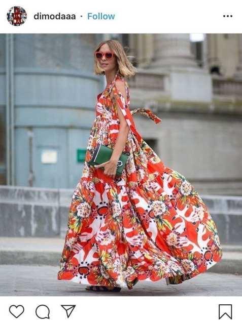 Maxi dress floreale - trend estivi - Le Plume