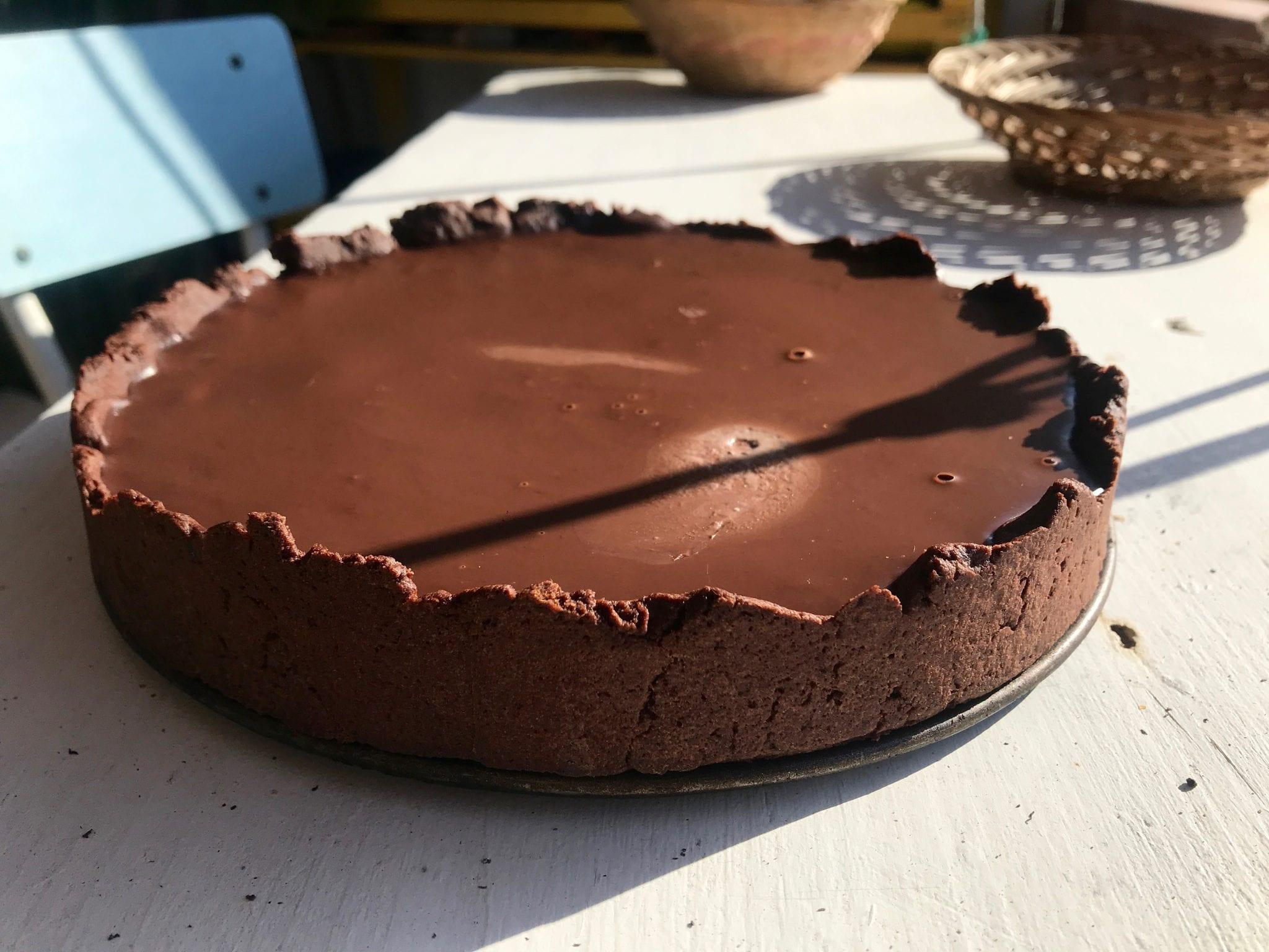 Crostata al cioccolato - Le Plume