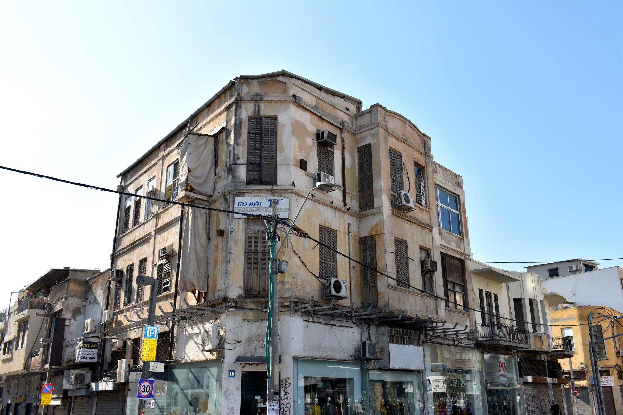 Tel Aviv palazzi vecchi - Israele - Le Plume