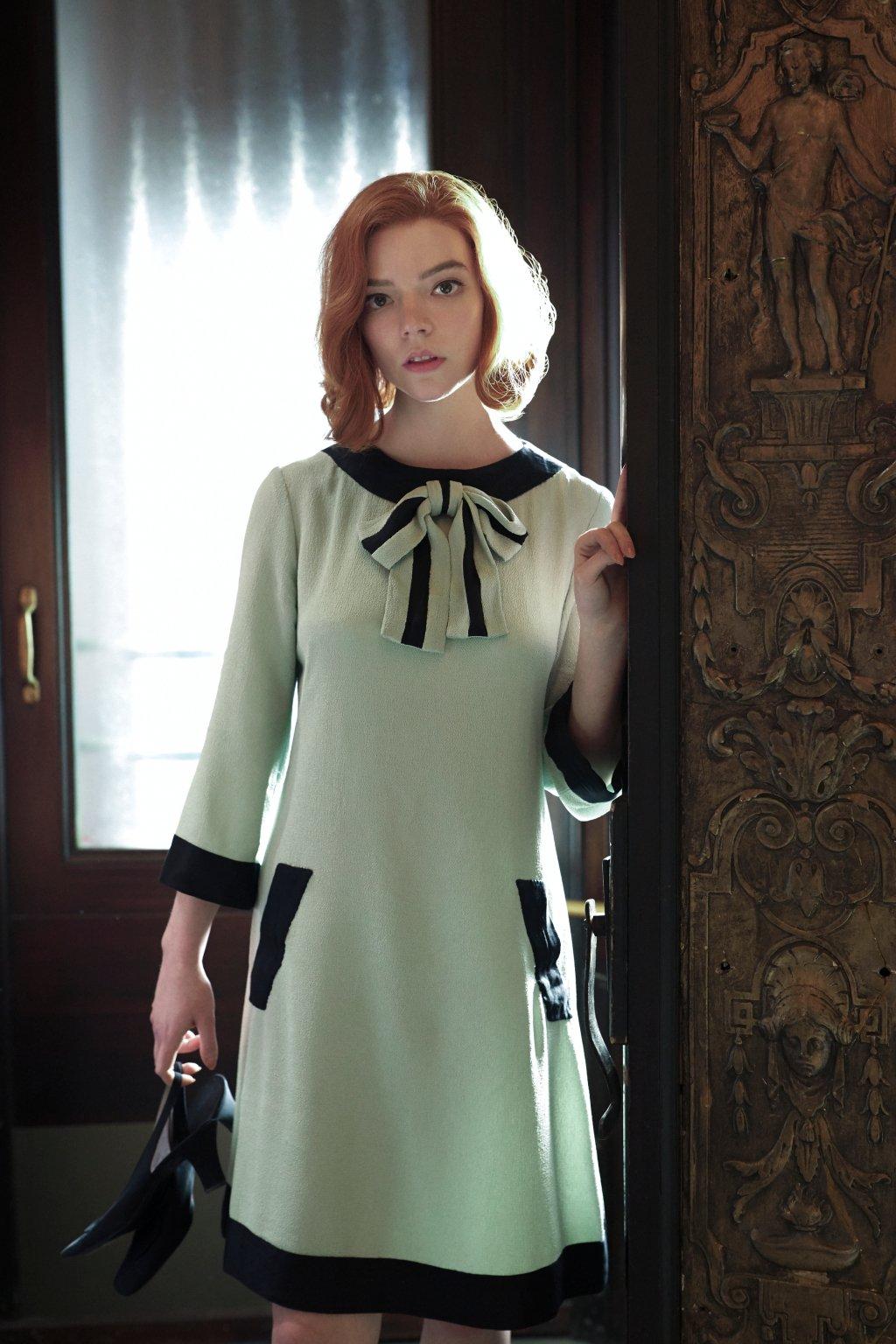 Vestito trapezio - La regina degli scacchi - Le Plume