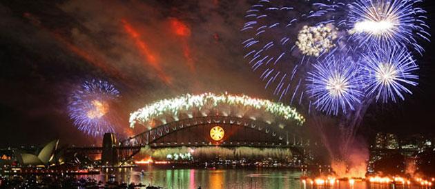 EN IMAGES - La nouvelle année célébrée dans le monde
