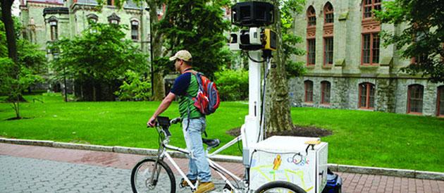 Un vélo Google pour photographier Paris