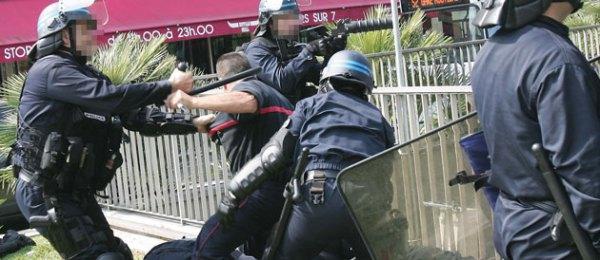 Affrontements entre policiers et pompiers à Nice : cinq ...