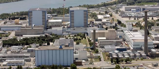 Un four explose sur le site nucléaire de Marcoule