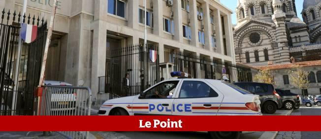 L'hôtel de police de Marseille.