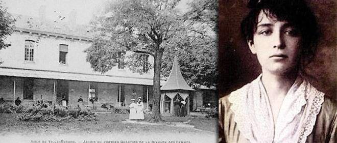 10 mars 1913. Camille Claudel est jetee a l'asile a la demande de sa mere et de son frere Paul