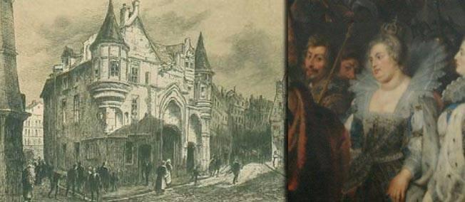 5 avril 1606. Devenue femme cougar, la reine Margot assiste au meurtre de son gigolo de 18 ans.