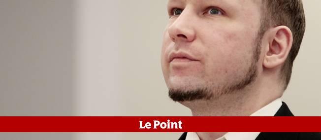 Anders Behring Breivik à Oslo, mardi.