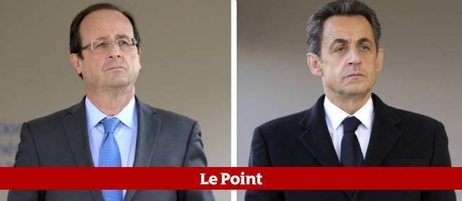 Les deux rivaux n'ont pas tardé à réagir à la manifestation spontanée de policiers mercredi soir sur les Champs-Élysées.