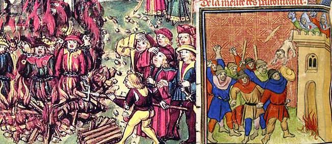 3 mai 1320. Chassés de Paris, les Pastoureaux vont massacrer du juif à Toulouse.