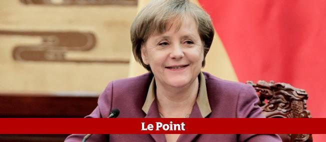 Angela Merkel, le 2 février lors de sa visite officielle en Chine.