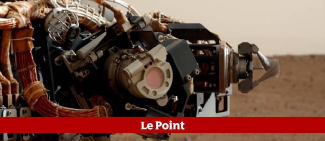 Un foret de Curiosity n'a pas été complètement stérilisé.