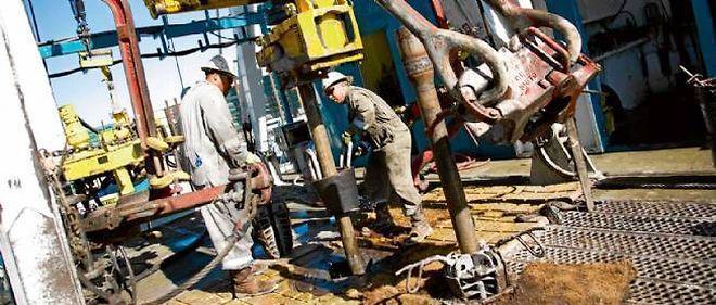 Forage à Fort Worth, dans le nord du Texas, une ville pionnière dans l'exploitation des gaz de schiste. © Jill Johnson