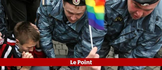 Les forces de l'ordre s'en prennent à des militants de la cause LGBT à Moscou (photo d'illustration).