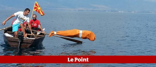 Un ressortissant bulgare âgé de 59 ans a nagé, enfermé dans un sac, plus de deux kilomètres dans le lac d'Ohrid.